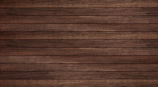Wood texture background, wood planks horizontal