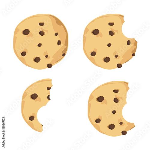 """""""Chocolate chip cookie"""" Stockfotos und lizenzfreie ..."""