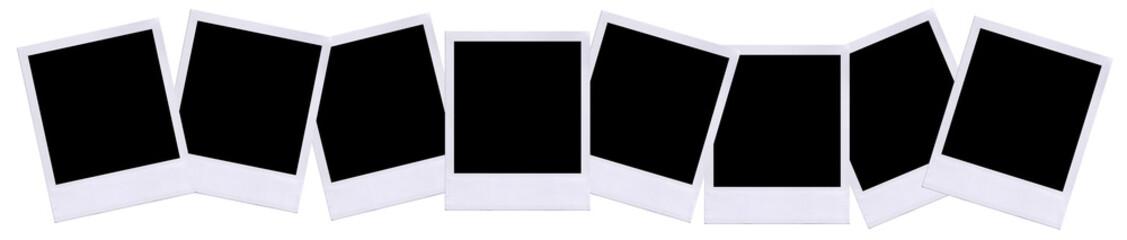 Instant film layout.
