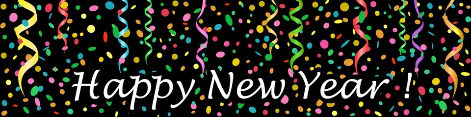 Banner. Happy New Year !