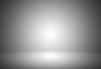 Grey gradient abstract background / gray room studio background / dark tone / for used background or wallpaper.