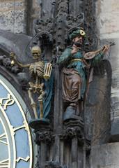 detalle, Reloj Astronómico - Praga