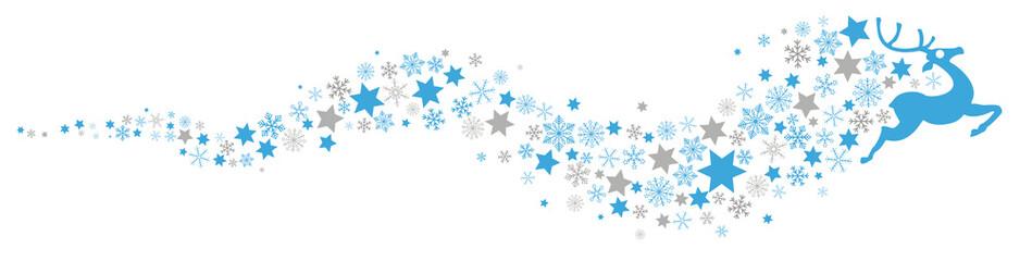 Reindeer Snowflakes Star Dust