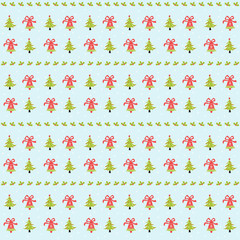 merry christmas seamless pattern background