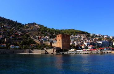 Alanya, Red Tower and Castle
