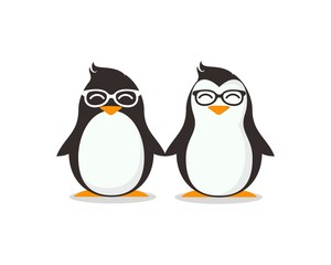 Twin Penguin - Vector