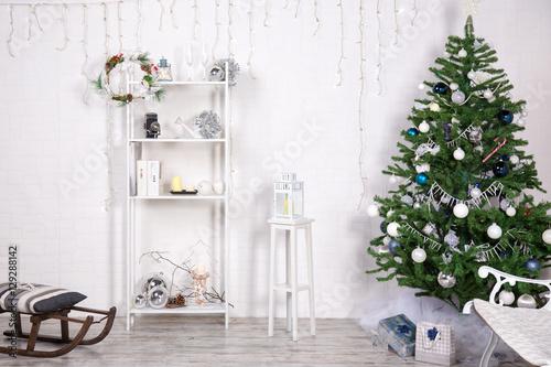 arredamento natalizio stock photo and royalty free
