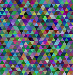 Abstract colorful triangle mosaic background