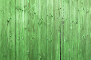 The old green wood texture with natural patterns Wall mural