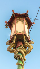 Lamp in San Francisco Chinatown