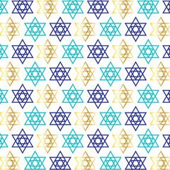 star of david background pattern on white