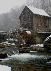 Old Mill Winter
