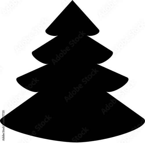 Christmas Tree Vector Image.Christmas Tree Icon Christmas Tree Vector Icon Christmas