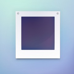 Photo frame or blank picture for background