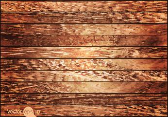 Wood texture. Vector