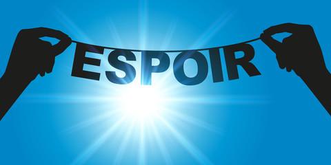 Espoir - Mot - espérance - souhait - optimisme