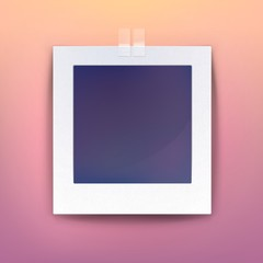 Background for blank picture or photo frame