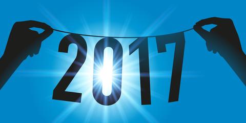 2017 - Carte de vœux - présentation