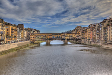 Old bridge of Florence.