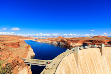 Wall Murals Dam Glen Canyon Dam