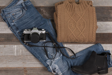 Women's autumn and winter clothes