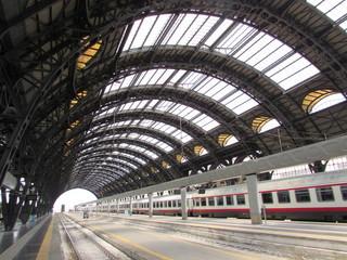 Poster Treinstation Stazione Centrale di Milano - viaggiare
