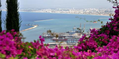 Stadtbild von Haifa