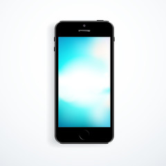 Vector smart phone isolated