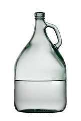 3-liter bottle isolated on white.