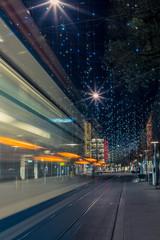 Christmas lights in Zurich Bahnhofstrasse - 1