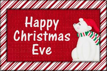 Happy Christmas Eve greeting