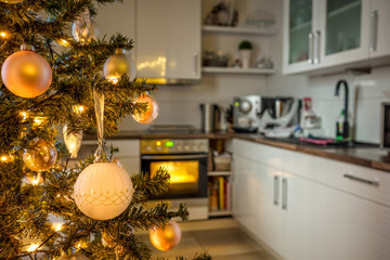 Kitchen and christmas
