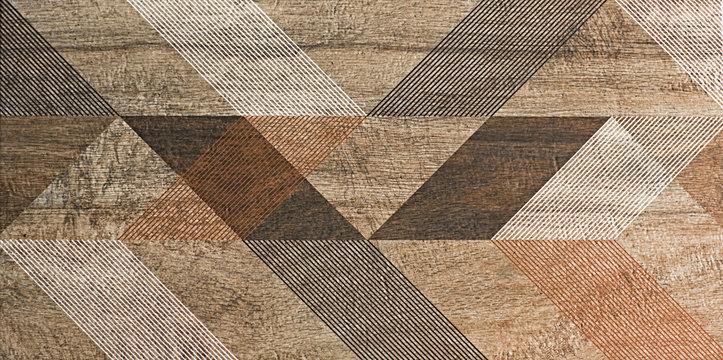 mosaic, tile, geometric shapes