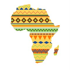Africa continent vector illustration.