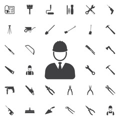 Architect Icon. Construction icons universal set for web and mobile