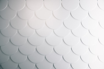 Light fish scales background