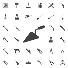 putty knife icon. Construction icons universal set for web and mobile
