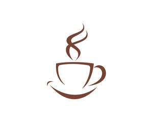 Coffee Cup Icon Logo Template vector icon design