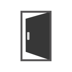 open door icon image vector illustration design