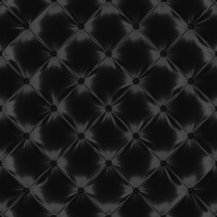 Black satin background with buttons