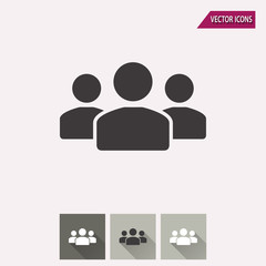 People - vector icon.