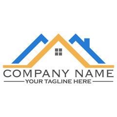 House building logo design