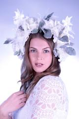Phantastisches Outfit in winterlichem Stil - beautiful woman