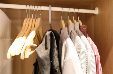 A few pieces of men's shirts