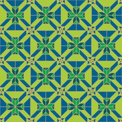 Seamless oriental geometric patterns