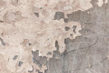 Fotobehang Oude vuile getextureerde muur ragged stucco on brick wall