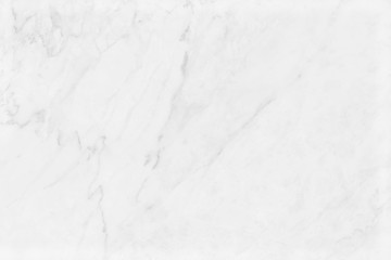 White marble texture with natural pattern for background and design.