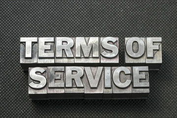 terms of service bm