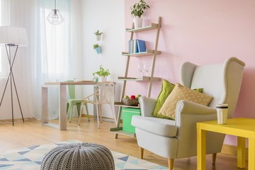Modern cozy studio