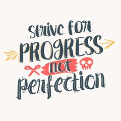 Inspiring Quote about progress